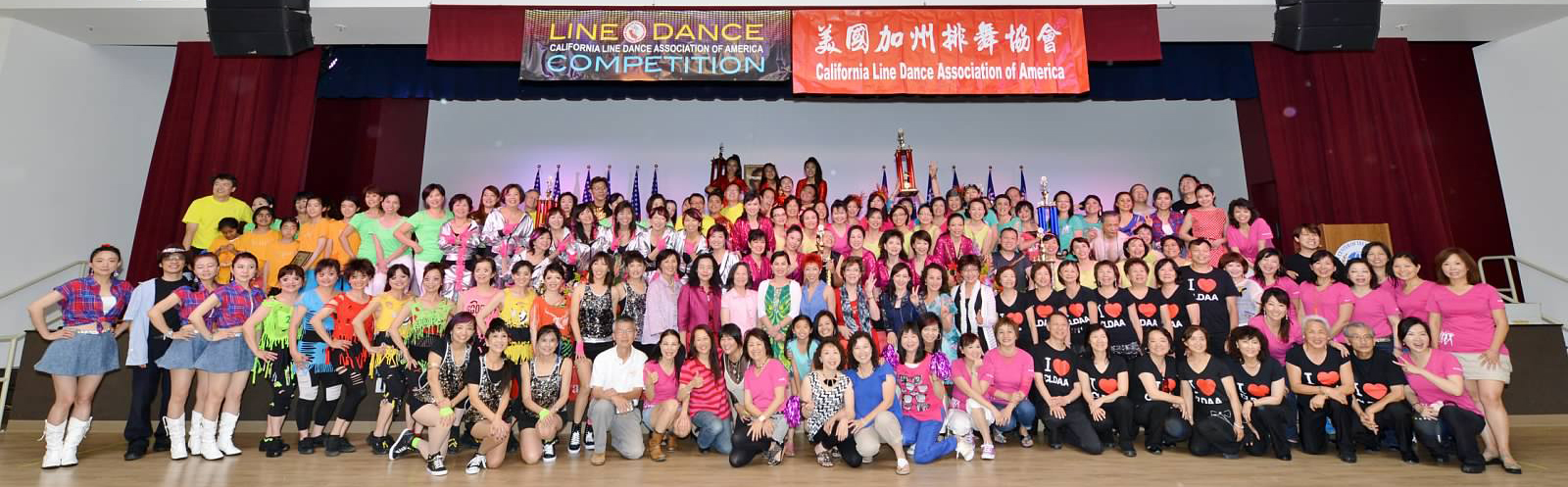 CLDAA Line Dance Competition 6/28/2015