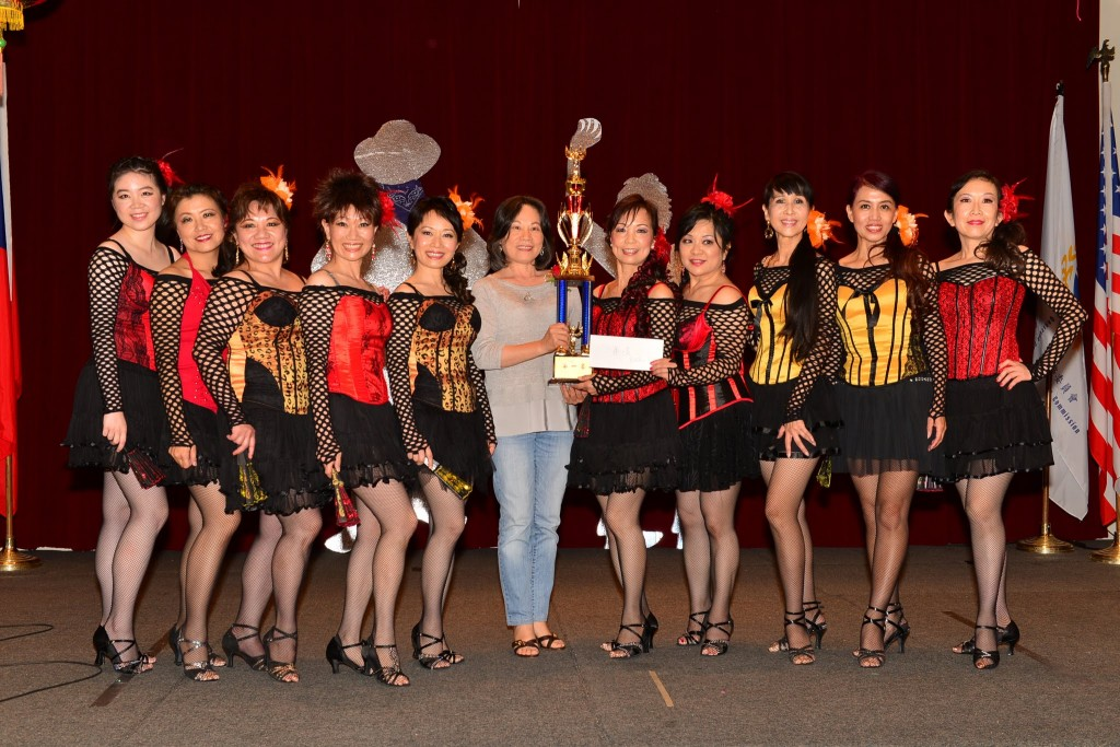 linedance competition 1st